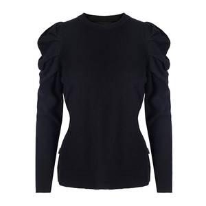 Bilde av ella&il Luna Wool Sweater Black