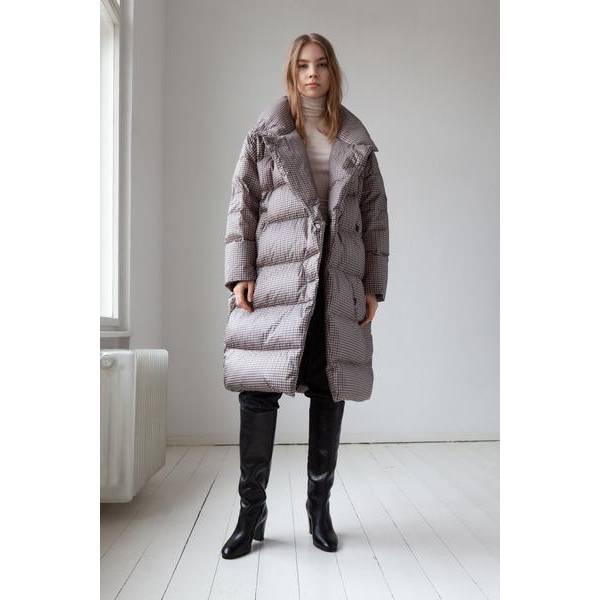 Lempelius Wrap Coat Check